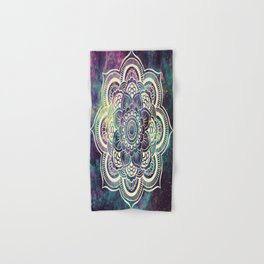 Galaxy Mandala : Deep Pastels Hand & Bath Towel