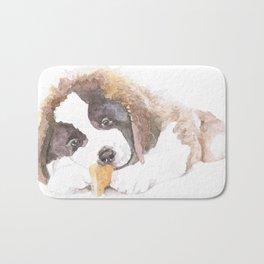 San Bernardo Puppy Bath Mat