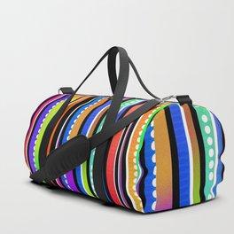 Rainbow lines Duffle Bag