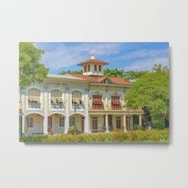 Historic Buildings, Parque Historico, Guayaquil, Ecuador Metal Print