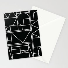 Kaku BW Stationery Cards