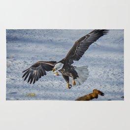 Eagle over deer Rug
