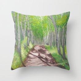TAFAC.net Portal Painting Throw Pillow