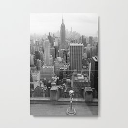 New York State of Mind IX Metal Print