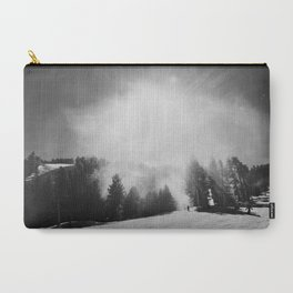 Blowing Snow Carry-All Pouch