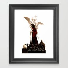 TOSCA - OPERA ART Framed Art Print