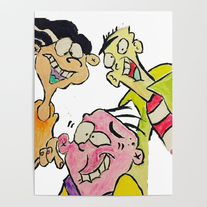 Ed Edd n Eddy Poster by artbymeech_