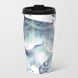 Underwater Temple Metal Travel Mug