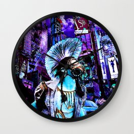 Minuit in G Wall Clock
