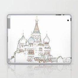Saint Basil's Cathedral (on white) Laptop & iPad Skin