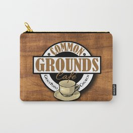 Common Grounds Cafe Logo Carry-All Pouch