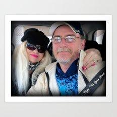 Doug and Judi Personal item Art Print