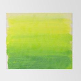 Lemon Lime Throw Blanket