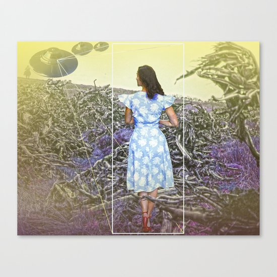 Cowboys,Ladies & Aliens Canvas Print