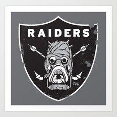 Tusken Raider Nation Pride Art Print