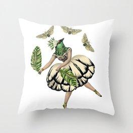 Bird Dancer three Throw Pillow