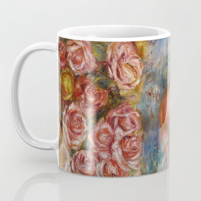 "Auguste Renoir ""Étude De Nus Et De Fleurs"" Coffee Mug"