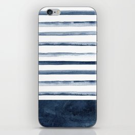 Stripes | Watercolor Pattern iPhone Skin