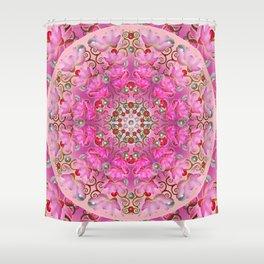 Lotus Explotiv Shower Curtain