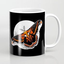 Robin Moth   MOON VERSION     BUGSPOTTING SERIES Coffee Mug