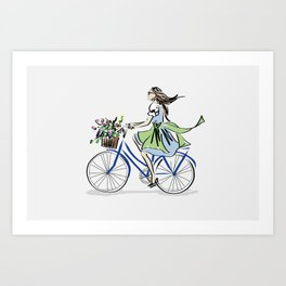 SUMMER IN THE CITY! Art Print