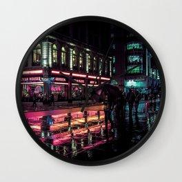 London Nights Wall Clock
