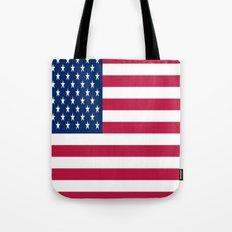 Flag of USA - American flag, flag of america, america, the stars and stripes,us, united states Tote Bag
