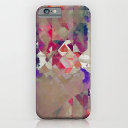 a knife made of dust iPhone Case