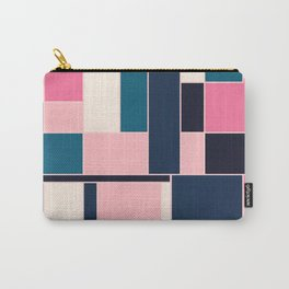 City, abstract painting Carry-All Pouch