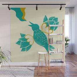 Melody of free birds Wall Mural