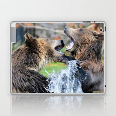 Sparring Grizzly Bears Laptop & iPad Skin