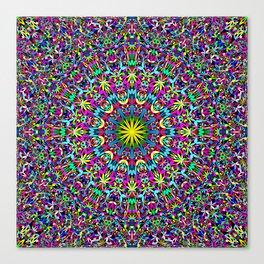 Bohemian Mandala Ornament Canvas Print