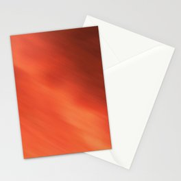 Abstraction . Orange-brown blurred background . Stationery Cards