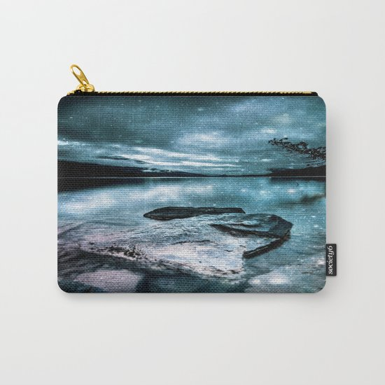 magical mountain lake Carry-All Pouch