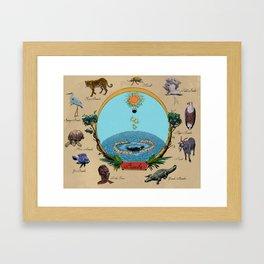 Creation Myth (Congo creation myth)  Framed Art Print