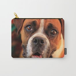 boxer's face weeping of friendly behavior Carry-All Pouch