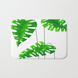 Monstera Bath Mat