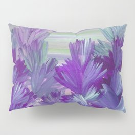 Evening Light Floral Painting 2 Pillow Sham