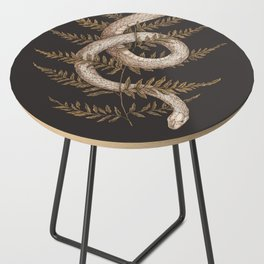 The Snake and Fern Side Table