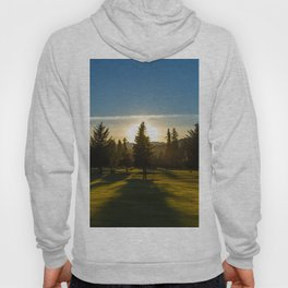 Sunset of the Golf Course Hoody
