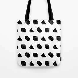 Shapes Pattern Tote Bag