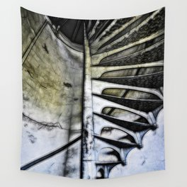Lighthouse tower stairs Wall Tapestry