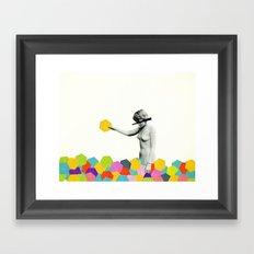 Strange Phenomenon Framed Art Print