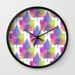 Blues Of Nature Wall Clock