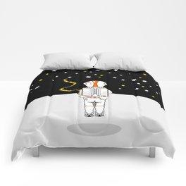 Astronaut Caught Short Comforters