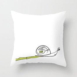 Snail Mail Idiom Throw Pillow
