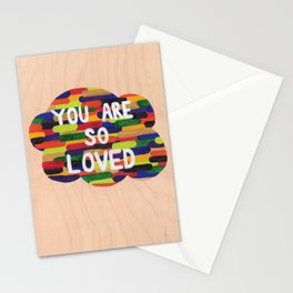 YOU ARE SO LOVED! Stationery Cards