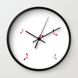 Full Time Mom Part Time Dad Wall Clock