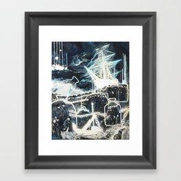"""""""Washed Ashore"""" Framed Art Print"""