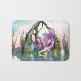Tell me your troubles Bath Mat